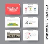 presentation template   various ... | Shutterstock .eps vector #278264615