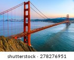 golden gate bridge  san... | Shutterstock . vector #278276951