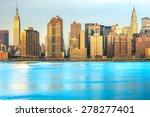 midtown manhattan skyline  new... | Shutterstock . vector #278277401