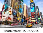 new york city   dec 01 times... | Shutterstock . vector #278279015