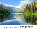 alpine lake josephine on the... | Shutterstock . vector #278312795