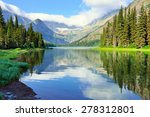 alpine lake josephine on the... | Shutterstock . vector #278312801