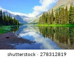 alpine lake josephine on the... | Shutterstock . vector #278312819