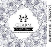 charm collection. vintage... | Shutterstock .eps vector #278320604