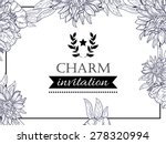 charm collection. vintage... | Shutterstock .eps vector #278320994