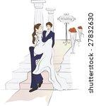 wedding story | Shutterstock .eps vector #27832630
