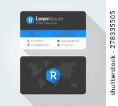 r letter flat style initial...   Shutterstock .eps vector #278335505