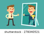 illustration of business man... | Shutterstock .eps vector #278340521