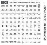 Air Conditioner System Icon....
