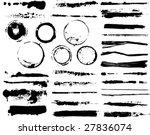 illustration brushes   Shutterstock .eps vector #27836074