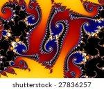 an artistic fantasy background | Shutterstock . vector #27836257
