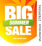 big summer sale | Shutterstock .eps vector #278395541