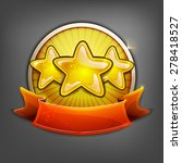 badges of gold stars. vector...