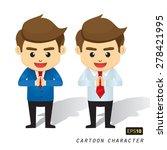 businessman cartoon character...   Shutterstock .eps vector #278421995