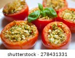 stuffed tomatoes | Shutterstock . vector #278431331