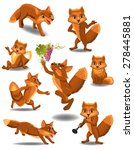 Cartoon Fox Doing Different...