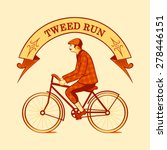 tweed run retro cycling event...