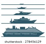 Flat Icons Of Boats Ranked By...
