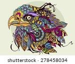eagle head | Shutterstock .eps vector #278458034