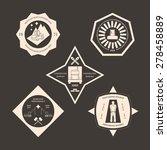 logotype set for construction ... | Shutterstock .eps vector #278458889