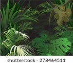 background plant  nature ... | Shutterstock .eps vector #278464511