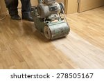 wood floor polishing... | Shutterstock . vector #278505167