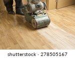 wood floor polishing... | Shutterstock . vector #278505167