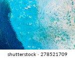 blue abstract watercolor macro... | Shutterstock . vector #278521709