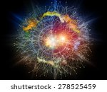 geometry of virtual space... | Shutterstock . vector #278525459