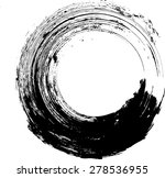 vector grunge logo design... | Shutterstock .eps vector #278536955