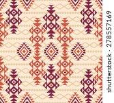 seamless geometric tribal...   Shutterstock .eps vector #278557169