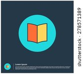 open book icon  vector...