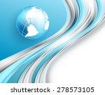 abstract modern bright vector... | Shutterstock .eps vector #278573105