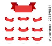 ribbon simple style retro art... | Shutterstock .eps vector #278598854
