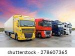 truck  transportation | Shutterstock . vector #278607365