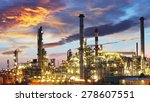 oil and gas industry   refinery ... | Shutterstock . vector #278607551