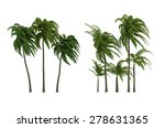 trees isolated collection | Shutterstock . vector #278631365