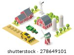 vector isometric icon... | Shutterstock .eps vector #278649101