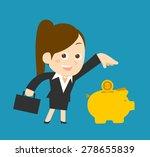 flatten vector illustration  ... | Shutterstock .eps vector #278655839