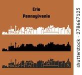 erie  pennsylvania | Shutterstock .eps vector #278667125