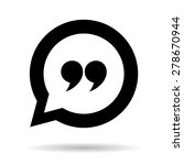 quote icon   Shutterstock .eps vector #278670944