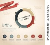infographic elements   paper... | Shutterstock .eps vector #278673797