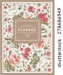 Vintage Greeting Card Blooming...