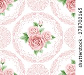 vintage seamless pattern with...   Shutterstock .eps vector #278702165