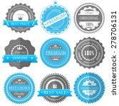 premium quality  guarantee... | Shutterstock .eps vector #278706131