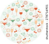 drinks icons | Shutterstock . vector #278716901
