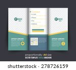 vector business concept tri... | Shutterstock .eps vector #278726159