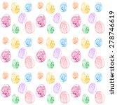easter eggs multicolor seamless ...   Shutterstock .eps vector #278746619