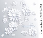 abstract background with white... | Shutterstock .eps vector #278754851