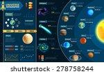 astronomical scientific space... | Shutterstock .eps vector #278758244